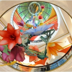 See the incredible Paper Sculptures by Benja Harney at Sydney's Queen Victoria Building.