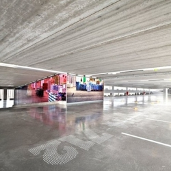 Parking in Soissons - France by Jacques Ferrier Architectures.