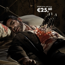 Morbidly good art direction and design from the Advertising Agency Shackleton out of Madrid, Spain.