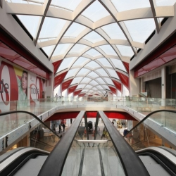 These are the first pictures of Ron Arad Associates newly opened Mediacity shopping centre in Liège