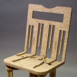 'Flatpack' chair by Celeste Glavin.
