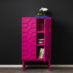 'Vibrant' cabinets by Sara Larsson of A2 Designers. This is the 2011 Collect Cabinet.