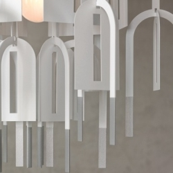 'Rhizome' hanging light by Matali Crasset for Spanish brand Arturo Alvarez.
