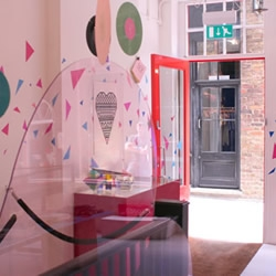 143 is an impeccably cool 'pop-up' store in London, a collaboration between the seemingly unstoppable creative genius that is Kate Moross and cult fashion label Silver Spoon Attire.