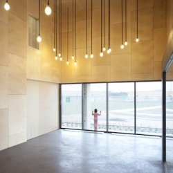New sports and dance hall in Calais - France by Pierre Frinault and David Jouquand from Remingtonstyle Architects.