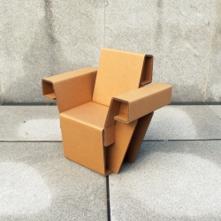 Chairigami: Cardboard furniture for the urban nomad.