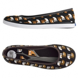 Also liking these owl keds i've been seeing around. Keds which have been working hard at their mischa barton led comeback combined with hot designers.