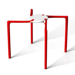 One of my favourite stools, obviously stackable, inspired in Japan..