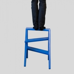 'Strep' stepladder by Thierry Didot and Damien Ummel from Atelier Peekaboo.