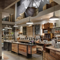 Repurposed and reimagined, Starbucks has gone back to basics with the launch of their 15th Avenue E Coffee and Tea store.