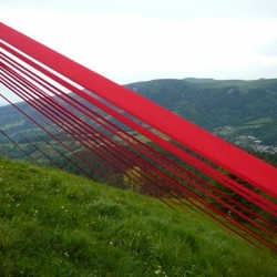 'Cardinal' art installation by Marion Robert and Laurent Gongora for Horizons Festival in France.
