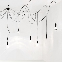 Lamps designed Jean Nouvel for Luxiona will be shown in the architect's office during Paris Design Week.