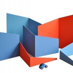 'Libero' is a children hut and maze by Jean-Sébastien Poncet for Edition Sous Etiquette.
