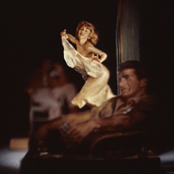 Thomas Allen makes dioramas from old pulp novel cutouts