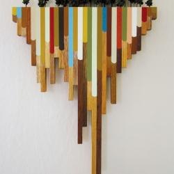 Polypropylene Detritus by PDX artist Blaine Fontana.