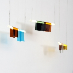 'Photochrome' hanging lamp by Jean Couvreur for Index Of Design.