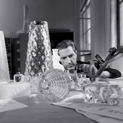BACCARAT present his new collection « United Crystal Woods » designed by Marcel WANDERS...