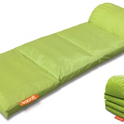 Smooff Lounge Cushy. Ohh I'd like one right now in the office! Great idea, nice and compact for something like moonlight cinema watching, camping etc.