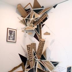 Installation by artist Clemens Behr in Dortmund, Germany
