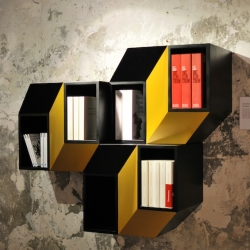 'Bistable' shelf by Charles Kalpakian.