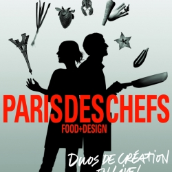 International Chefs, architects and designers on stage at 'Paris Des Chefs'