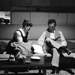 Extensive photography of designers Charles and Ray Eames in their new California home shot in 1950 by Peter Stackpole for LIFE magazine.