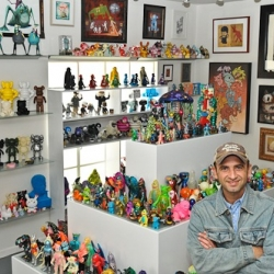 Gino Joukar's Toy Art Gallery (TAG) is a treasure trove of vinyl, kaiju and contemporary art. Lust.