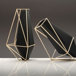 Martin Azua's new beautifully geometric Union Suiza vases are absolutely stunning!