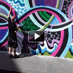 MWM X Lets Colour France : Walls Are Dancing. Stop-Motion Music Video of 3 Mega-Murals (Marseille, Lyon, Paris).