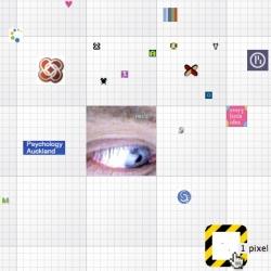 Million Dollar Cube - 1 pixel? World's smallest, silliest pixel ad.
