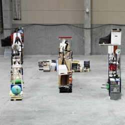 """What seems like a bunch of randomly placed objects in a room actually spells out """"1 + 1 = 3"""". Created by the final-year students in Product Design at Beckmans College of Design."""