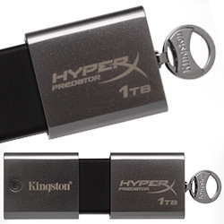 Wow. Kingston announces 1TB USB Flash Key! 1TB DataTraveler HyperX Predator flash drive