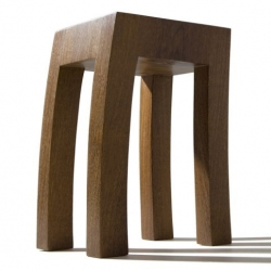 Stool #9 Furniture by Brazilian Designer Rodrigo Silveira.