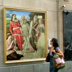 The National Gallery and HP bring  art to the streets of London