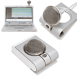 "Super cute little mic ~ BlueMic Snowflake USB Microphone - ""the first professional portable USB mic"""