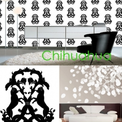 Byracka Design is a Swedish artist and designer, Her full format wallpapers as the Chihuahua Medallion is a hit!