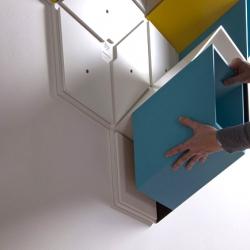 Bjørn Jørund Blikstad makes a extraordinary furniture piece, called Imeuble.