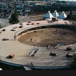 Circular kindergarten in Japan by Takaharu + Yui Tezuka Architects. (Slideshow by Domus)