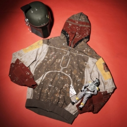 Marc Ecko designed Boba Fett Hoodie. Plus a whole line of Star Wars  clothing coming out