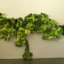 Mossy goodness in sculpture form by Annalisa Vobis