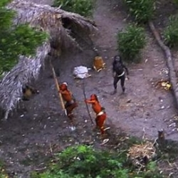 The news of a long lost Brazilian tribe that had strayed away from civilization to be found while taking a aerial survey of the amazon was a big fat hoax.