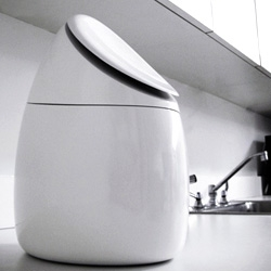 A sexy rice cooker? Sang Lee creates perhaps the first and only one, with a light-up touchpad and sleek lines. It's practically sculpture for the kitchen.