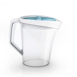 3M Filtrete just launched a fast-flow water filtration pitcher.  It filters water in a matter of seconds, and it has a sustainable, recyclable filter.