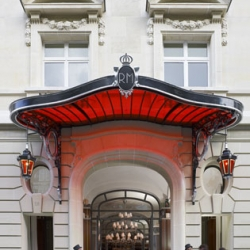 The new Royal Monceau hotel in Paris, redesigned by Philippe Starck.
