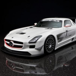 The Mercedes SLS AMG GT3 is the latest racing supercar from Mercedes for the 2011 season.