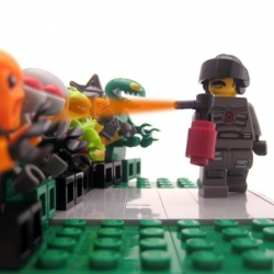 The Guardian has rounded up a 2011 Year in Review in photos as told by Legos. Some of this year's biggest news stories, from the Royal Wedding, to the Occupy Wall Street movement, are seen with Lego characters.