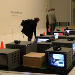 "Until 3rd February 2012, the Media Lab Complex in Cambridge (Massachusetts, USA) hosts ""Disobedience / An ongoing video archive"", an exhibition curated by Mark Scotini."