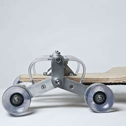 London-based designer Po-Chih Lai invented STAIR ROVER – a skateboard that could easily roll down the stairs.
