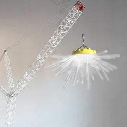 The Crane Lamp, by ever inventive - former LEGO concept designer, Sweden-based Charlie Davidson.
