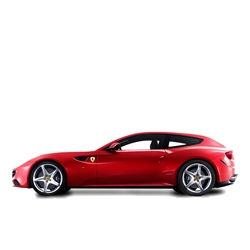 Ferrari unveils the new 2012 FF complete with four seats and a rear hatch.